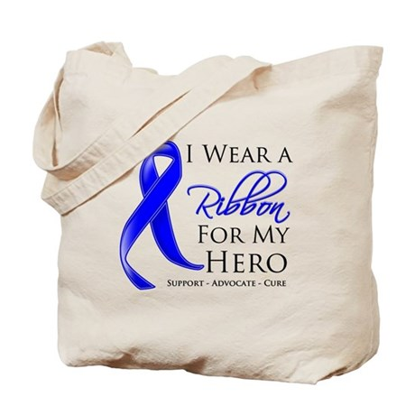 Hero Colon Cancer Tote Bag