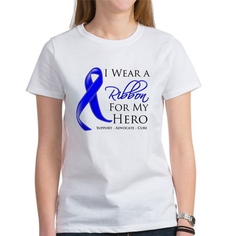 Hero Colon Cancer Women's T-Shirt