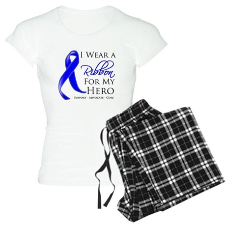 Hero Colon Cancer Women's Light Pajamas