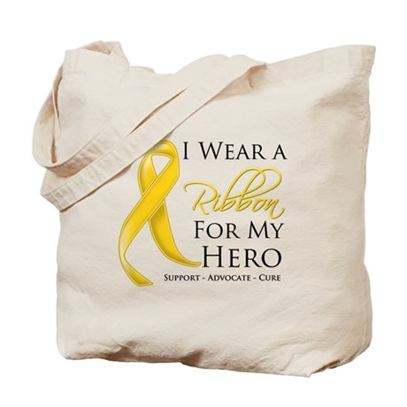 Hero Childhood Cancer Tote Bag