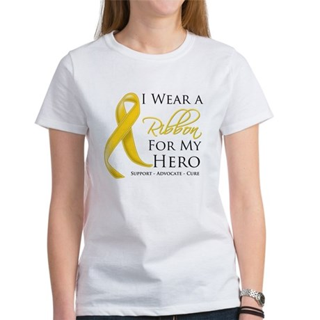 Hero Childhood Cancer Women's T-Shirt