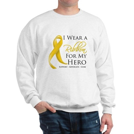 Hero Childhood Cancer Sweatshirt
