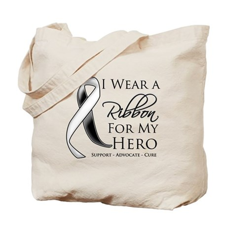 Hero Carcinoid Cancer Tote Bag