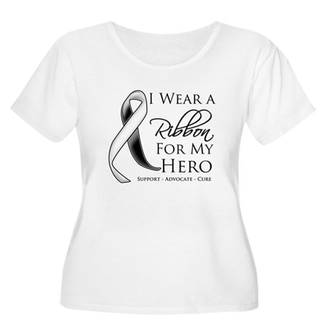 Hero Carcinoid Cancer Women's Plus Size Scoop Neck