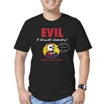 EVIL Men's Fitted T-Shirt (dark)