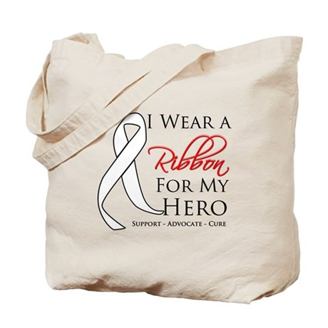 Hero Bone Cancer Tote Bag