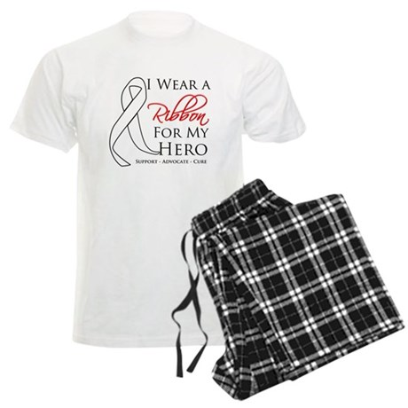Hero Bone Cancer Men's Light Pajamas