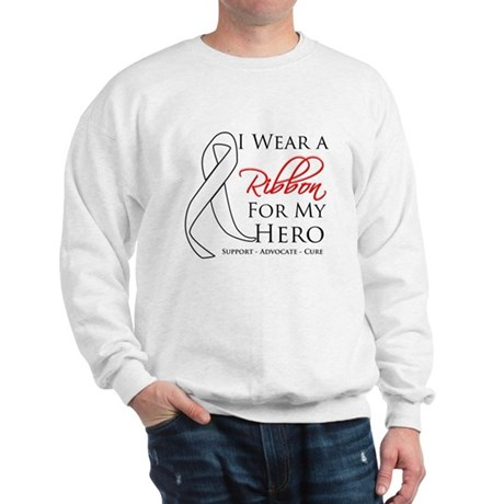 Hero Bone Cancer Sweatshirt