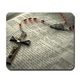 Funny Religion and beliefs Mousepad