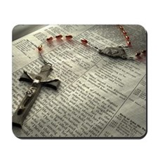 Cute Rosary Mousepad