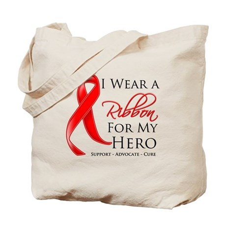 Hero Blood Cancer Tote Bag