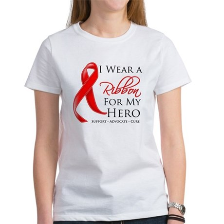Hero Blood Cancer Women's T-Shirt