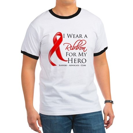 Hero Blood Cancer Ringer T