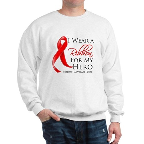 Hero Blood Cancer Sweatshirt
