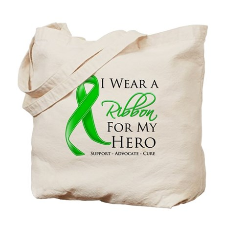 Hero Bile Duct Cancer Tote Bag