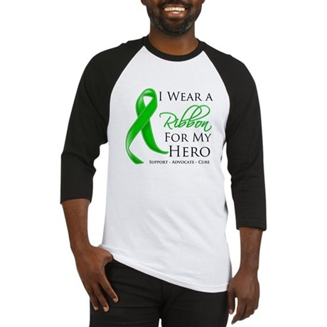 Hero Bile Duct Cancer Baseball Jersey