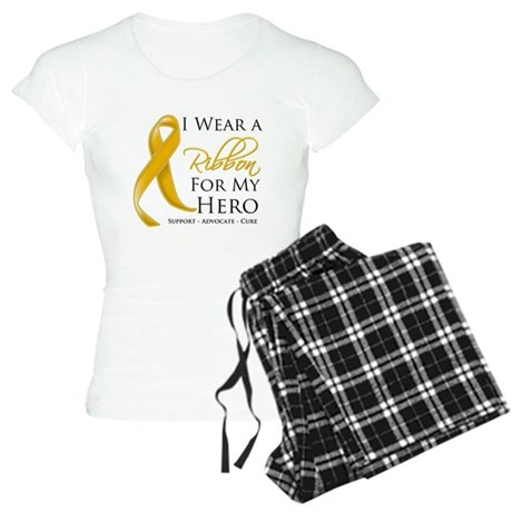 Hero Appendix Cancer Women's Light Pajamas