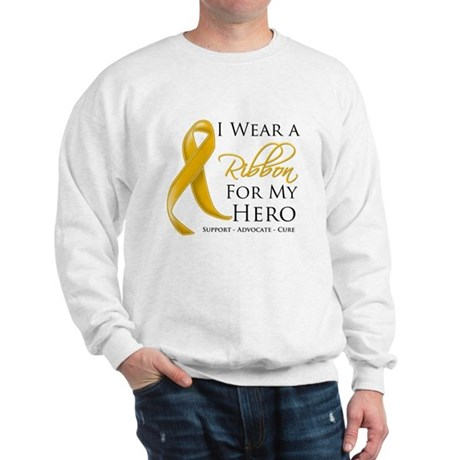 Hero Appendix Cancer Sweatshirt