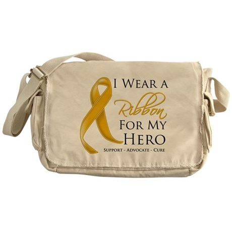 Hero Appendix Cancer Messenger Bag