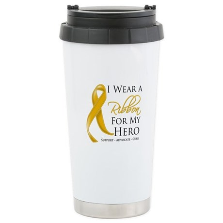 Hero Appendix Cancer Ceramic Travel Mug