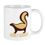 Honey Badger BadAss Coffee Mug