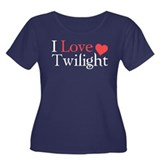 I Love Twilight Women's Plus Size Scoop Neck Dark