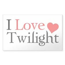 I Love Twilight Decal
