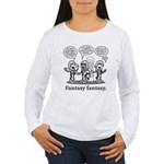 Fantasy Fantasy [grey] Women's Long Sleeve T-Shirt