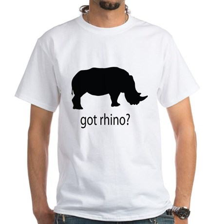 Got rhino? White T-Shirt