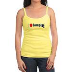I Love Camping Jr. Spaghetti Tank