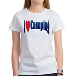 I Love Camping Women's T-Shirt