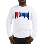 I Love Camping Long Sleeve T-Shirt