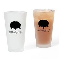 Got hedgehog? Drinking Glass