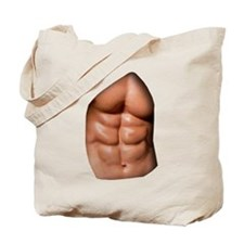 Ripped Abs Tote Bag