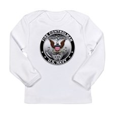 USN Fire Controlman Eagle FC Long Sleeve Infant T-