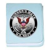 USN Gunners Mate Eagle GM baby blanket