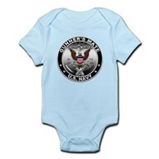 USN Gunners Mate Eagle GM Infant Bodysuit