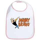 Johnny Bravo Bib