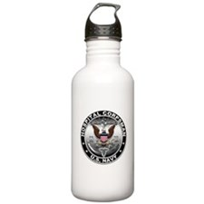USN Hospital Corpsman Eagle H Water Bottle