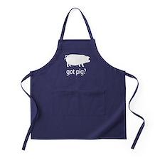 Got pig? Apron (dark)