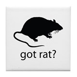 Got rat? Tile Coaster