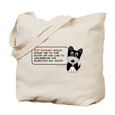 Romney vs Dogs Tote Bag