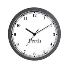 Perth Classic Newsroom Wall Clock