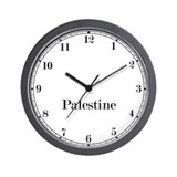 Palestine Classic Newsroom Wall Clock