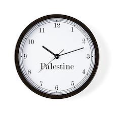 Palestine Classic Newsroom Wall Clock