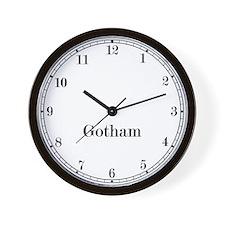 Gotham Classic Newsroom Wall Clock
