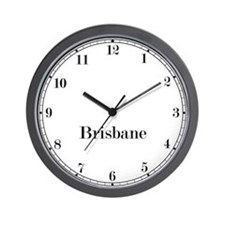 Brisbane Classic Newsroom Wall Clock