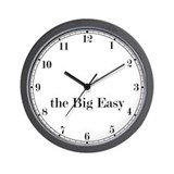 the Big Easy Classic Newsroom Wall Clock