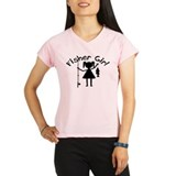 Cute Ice fishing Performance Dry T-Shirt