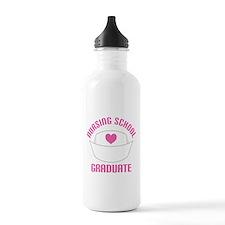 Nursing School Graduation Water Bottle